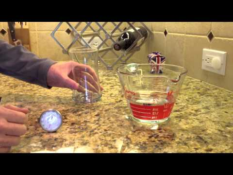 How To Pour A Glass of Water