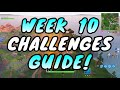Фрагмент с начала видео Fortnite WEEK 10 CHALLENGES GUIDE! – PUZZLE PIECES Locations, Treasure MAP (Battle Royale Season 5)