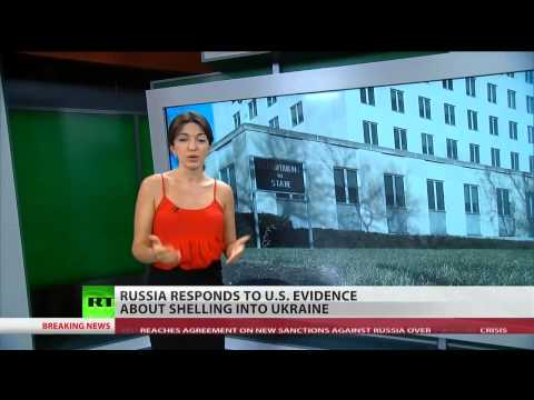 (Russia) says US claims of firing into Ukraine are false   7/29/14