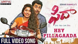 Hey Pillagaada Full Video Song | Fidaa