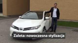 Toyota Auris Hybrid 2013 - 3 zalety i 3 wady