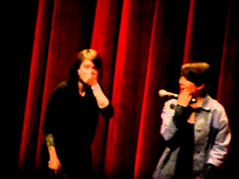 Tegan And Sara - Get Along Regrets (Get Along Q&A @ TIFF Bell Lightbox, Toronto, Canada. 11/17/2011)