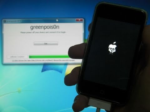 Jailbreak 4.2.1 Untethered With Greenpois0n For iPhone 4/3Gs/3G iPod Touch 4th/3rd/2nd Gen & iPad