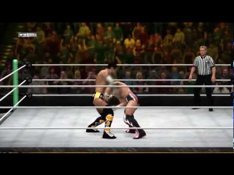 WWE Money In The Bank 2012 Cm Punk vs Daniel Bryan part 1 (PG)