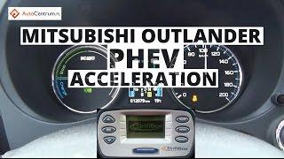 Mitsubishi Outlander PHEV - przyspieszenie 0-100 km/h