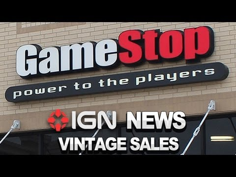 "IGN News: GameStop Planning ""Vintage Game"" Sales"