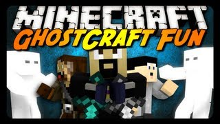 Minecraft Mini-Game: GhostCraft Fun! w/ AntVenom & Friends!