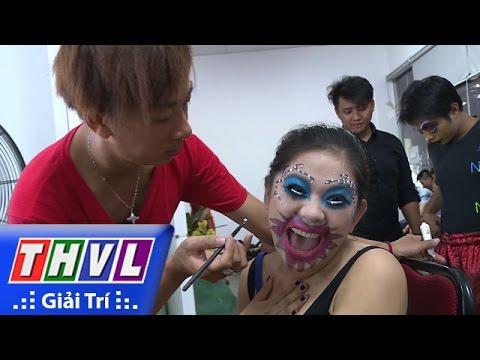 THVL | Đột nhập phòng trang điểm Cười xuyên Việt 2016