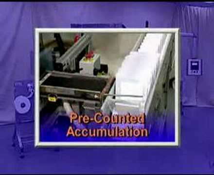 cd dvd automated sleeve packaging machine