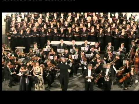 Beethoven Messe C-Dur Sanctus, Benedictus Coral Sao Jose  Azores-Camerata W.Kobera dir
