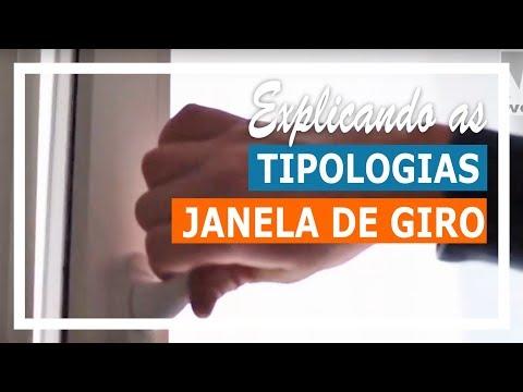 Conhecendo as tipologias de esquadrias - Porta & Janela de Giro - a Abertura Clássica