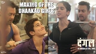 Making of The Dhaakad Girls - Dangal