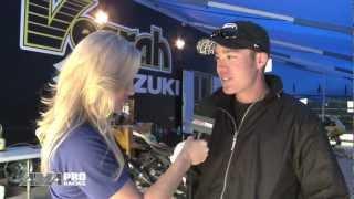Rider's Discount Vesrah Suzuki rider Cory West