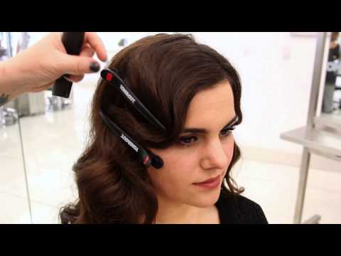 1920s Inspired Faux Bob | Updo Hairstyle Tutorial 05:10
