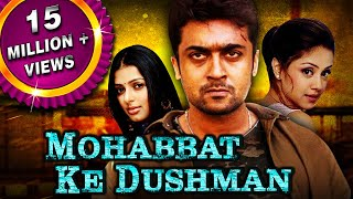 Mohabbat Ke Dushman (Sillunu Oru Kaadhal) Tamil Hindi Dubbed Full Movie  Suriya, Jyothika, Bhumika