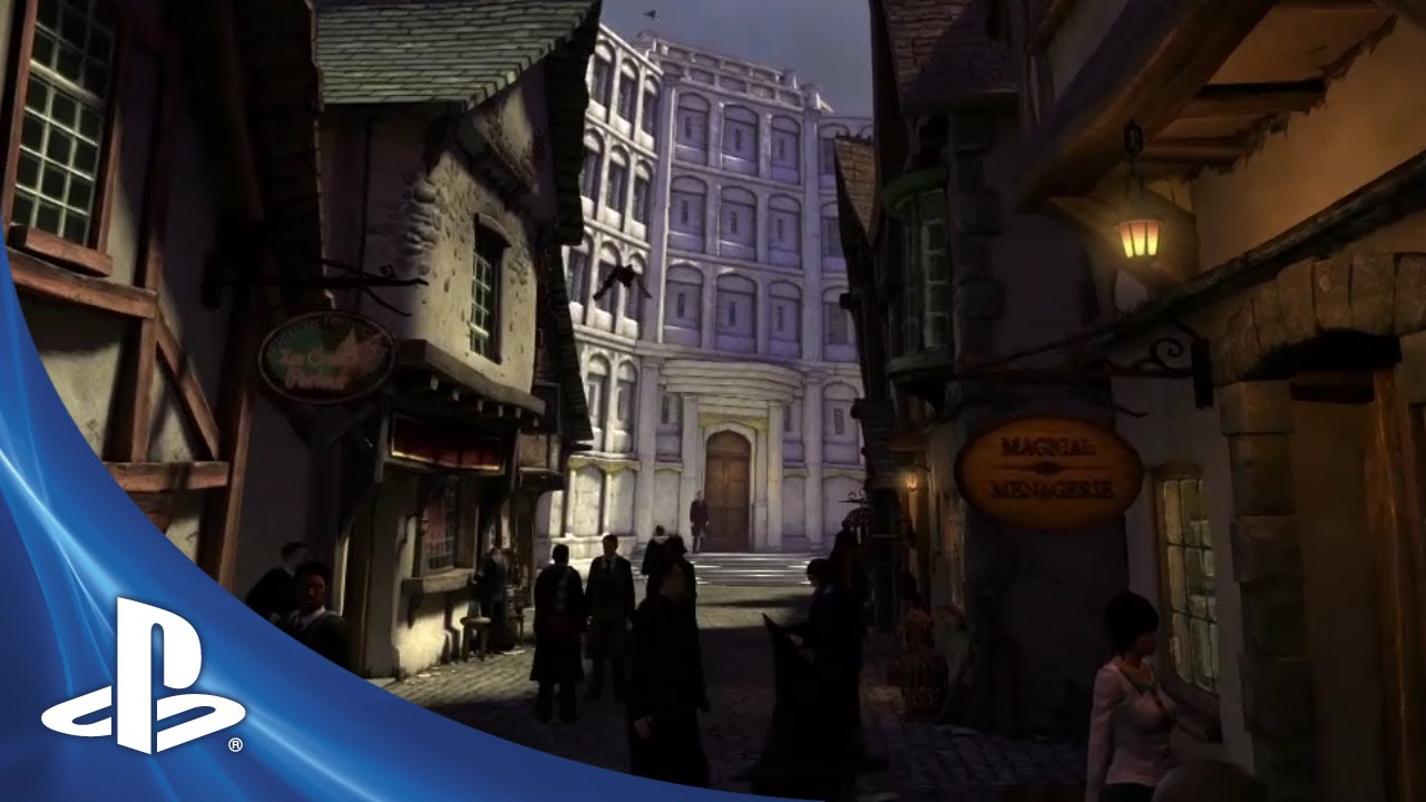 Pottermore at PlayStation Home