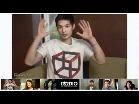 DS2DIO GOOGLE HANGOUT w/ Harry Shum, Mike Song & Mike Tompkins