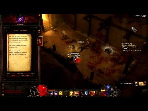 [Diablo 3 Walkthrough] Demon Hunter - Act 2 - Part 3 - Shadows in the Desert