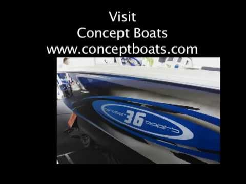 Poker Runs America - 2013 Miami International Boat Show - Concept Boats