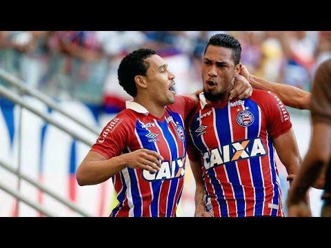 Veja o gol de Bahia 1 x 0 Fluminense de Feira