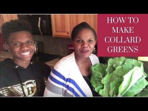How to cook Collard Greens with Smoked Neck Bones | Faylene's World