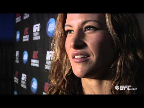 Miesha Tate and Cat Zingano on UFC 157: Rousey vs Carmouche