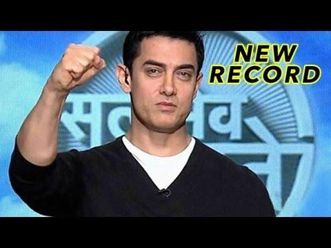Aamir Khan's Satyamev Jayate Breaks TRP Records!