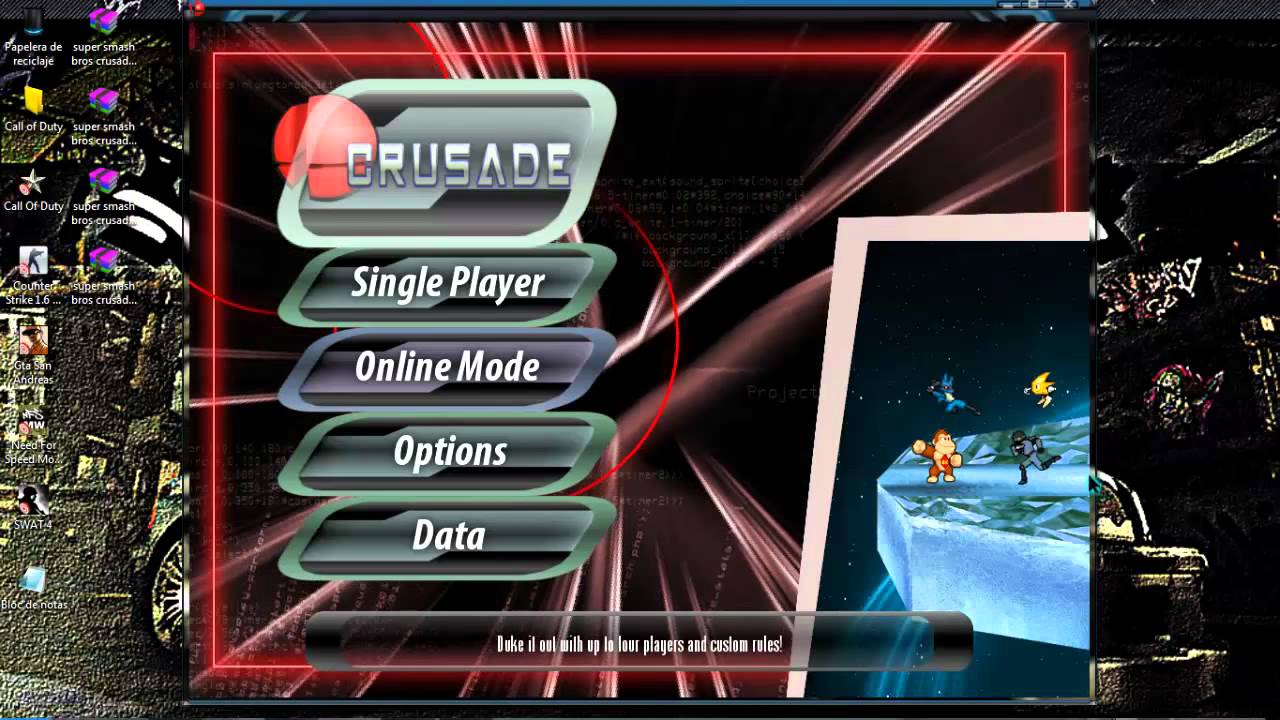 super smash bros crusade v0.8.4 download