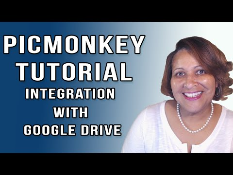 PicMonkey Tutorial with Google Drive Integration
