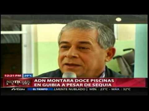 ADN montará las tradicionales doce piscinas en Guibia
