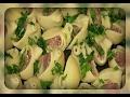 Ракушки с фаршем в соусе