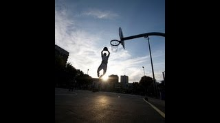 """5'9"""" Dunkfather : 9'8 and 10'2 : Unused dunks! 7'4 standing reach..."""