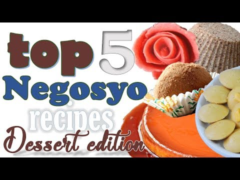 Top 5 NEGOSYO Recipes - Dessert Edition (Video COMPILATION) | It's More Fun in the Kitchen