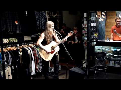 Scott 'Wino' Weinrich - I Don't Care & Nothin' Live @ the Volcom store LA