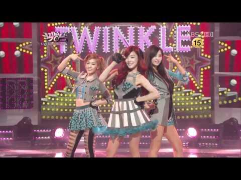 120525 SNSD (TTS) - TWINKLE + WIN  @ KBS 720P