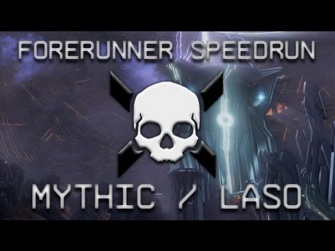Halo 4 - Forerunner Mythic/LASO Speedrun in 12:08
