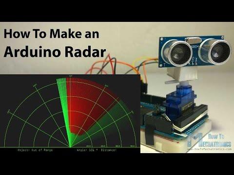 Arduino Radar Project - UCmkP178NasnhR3TWQyyP4Gw