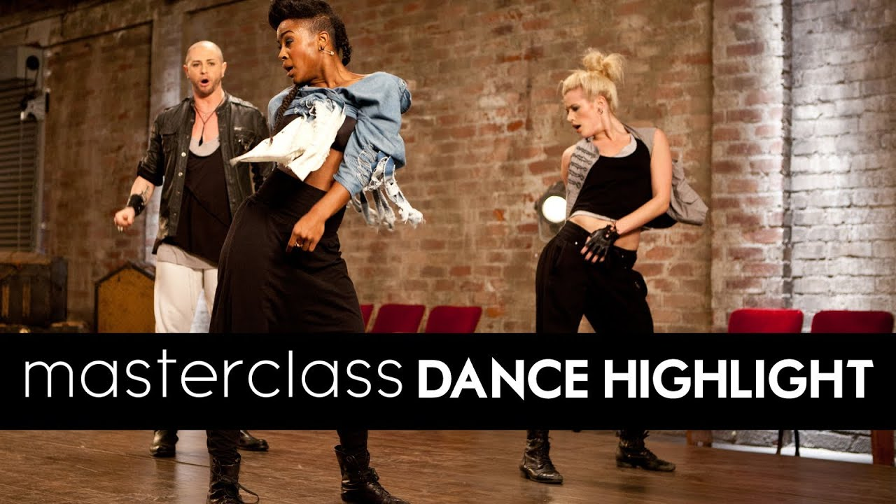 LEARN TO DANCE:  Brian Friedman's X FACTOR Masterclass Routine [DS2DIO]