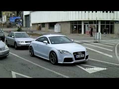 Emigrante com Audi TT RS nas ruas de Viana do Castelo