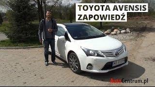 Toyota Avensis Wagon - zapowiedź testu
