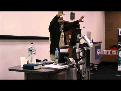 The Muslim Student - Shaykh Hasan Ali at Leicester University (Nasheed by MoKo)