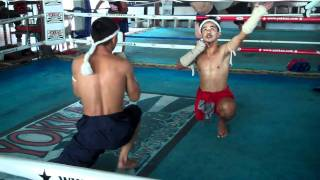 Traditional Muay Thai dance ritual done before a fight view on youtube.com tube online.