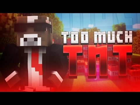 Minecraft Mod Challenges - TOO MUCH TNT ( Mods and Showcase )