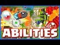 Bloons TD Battles - ALL ABILITIES IN BTD BATTLES! - Insane Epic Max Level Abilities Part 1
