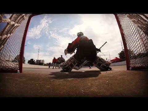 GoPro Hockey | I PLAYED GOALIE?! (HD)