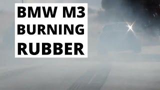 BMW M3 - palenie gumy!