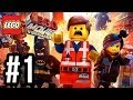 The LEGO Movie Videogame Walkthrough PART 1 Let's Play Gameplay Playthrough PS4 XBOX ONE PC