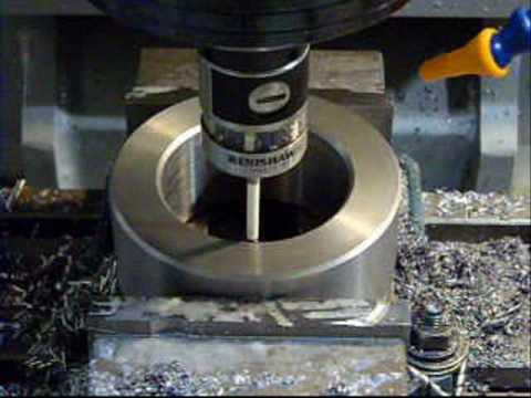 Haas TM-1 Machining