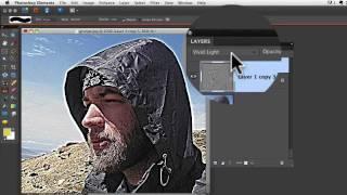 Photoshop Elements Tutorials- Grunge Effect
