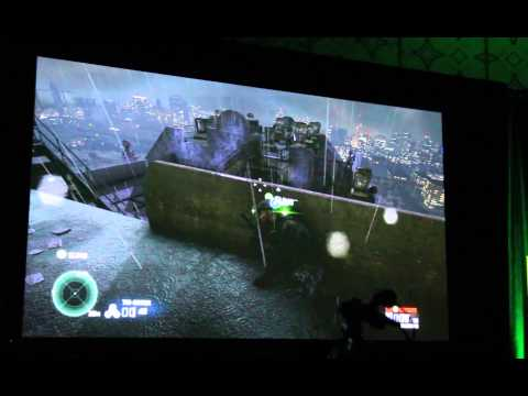 Splinter Cell Blacklist in-game footage captured at E3 2013